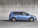 Фото авто Volkswagen Touran 2 поколение, ракурс: 270 - рендер цвет: синий