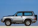 Фото авто Nissan Patrol Y61, ракурс: 90 цвет: серый