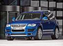 Фото авто Volkswagen Touareg 1 поколение [рестайлинг], ракурс: 45 цвет: синий