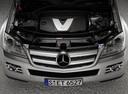 Фото авто Mercedes-Benz GL-Класс X164, ракурс: двигатель цвет: серебряный