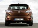Фото авто Mazda 3 BL [рестайлинг], ракурс: 180 цвет: коричневый