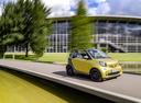 Фото авто Smart Fortwo 3 поколение, ракурс: 315 цвет: желтый