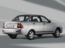 Фото авто ВАЗ (Lada) Priora 1 поколение, ракурс: 225 цвет: серебряный