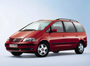 Фото авто Volkswagen Sharan 1 поколение [рестайлинг], ракурс: 45