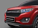 Фото авто Lifan MyWay 1 поколение, ракурс: передняя часть цвет: красный