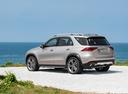 Фото авто Mercedes-Benz GLE-Класс V167, ракурс: 135 цвет: серебряный