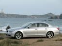 Фото авто BMW 5 серия E60/E61, ракурс: 90 цвет: серебряный