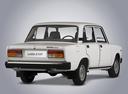 Фото авто ВАЗ (Lada) 2107 1 поколение, ракурс: 225 - рендер цвет: белый