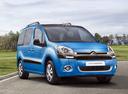 Фото авто Citroen Berlingo 2 поколение [рестайлинг], ракурс: 315 цвет: голубой