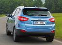 Фото авто Hyundai ix35 1 поколение [рестайлинг], ракурс: 180 цвет: голубой