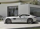 Фото авто Mercedes-Benz AMG GT C190, ракурс: 90 цвет: серый