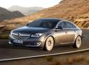 Фото авто Opel Insignia A [рестайлинг], ракурс: 45 цвет: серый
