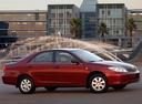 Фото авто Toyota Camry XV30, ракурс: 315 цвет: красный