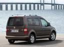 Фото авто Volkswagen Caddy 3 поколение [рестайлинг], ракурс: 225 цвет: коричневый