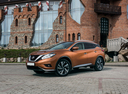 Фото авто Nissan Murano Z52, ракурс: 45 цвет: оранжевый