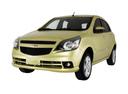 Фото авто Chevrolet Agile 1 поколение, ракурс: 45