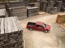 Фото авто Nissan Titan 2 поколение, ракурс: сверху цвет: красный