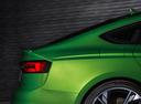 Фото авто Audi RS 5 F5, ракурс: задняя часть цвет: зеленый