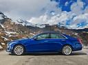 Фото авто Cadillac CTS 3 поколение, ракурс: 90 цвет: синий