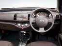 Фото авто Nissan March K12 [2-й рестайлинг], ракурс: торпедо