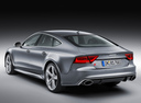 Фото авто Audi RS 7 4G, ракурс: 135 цвет: серый