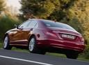 Фото авто Mercedes-Benz CLS-Класс C218/X218, ракурс: 135 цвет: красный