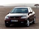 Фото авто Opel Astra G, ракурс: 45 цвет: бордовый