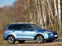 Фото авто Subaru Forester 4 поколение [рестайлинг], ракурс: 270 цвет: синий