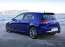 Фото авто Volkswagen Golf 7 поколение [рестайлинг], ракурс: 135 цвет: синий