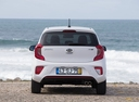 Фото авто Kia Picanto 3 поколение, ракурс: 180 цвет: белый