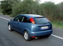 Фото авто Ford Focus 1 поколение, ракурс: 135 цвет: синий