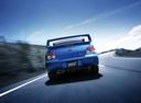 Фото авто Subaru Impreza 2 поколение [2-й рестайлинг], ракурс: 180 цвет: синий