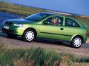 Фото авто Opel Astra G, ракурс: 90 цвет: салатовый