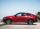 Фото авто BMW X6 F16, ракурс: 90 цвет: красный