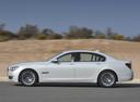 Фото авто BMW 7 серия F01/F02 [рестайлинг], ракурс: 90 цвет: белый