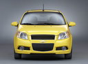 Фото авто Chevrolet Aveo T250 [рестайлинг],  цвет: желтый