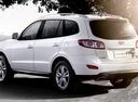 Фото авто Hyundai Santa Fe CM [рестайлинг], ракурс: 135 цвет: белый