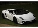 Фото авто Lamborghini Gallardo 1 поколение [рестайлинг], ракурс: 315 цвет: белый