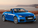 Фото авто Audi TT 8S, ракурс: 315 цвет: синий