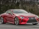 Фото авто Lexus LC 1 поколение, ракурс: 315 цвет: красный