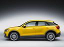 Фото авто Audi Q2 1 поколение, ракурс: 90 цвет: желтый