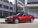 Фото авто Mazda MX-5 NC [2-й рестайлинг], ракурс: 45 цвет: красный