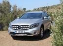 Фото авто Mercedes-Benz GLA-Класс X156 [рестайлинг], ракурс: 45 цвет: серебряный