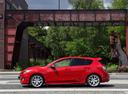 Фото авто Mazda 3 BL, ракурс: 90 цвет: красный