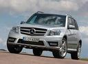 Фото авто Mercedes-Benz GLK-Класс X204, ракурс: 45 цвет: серебряный