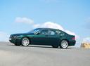 Фото авто BMW 7 серия E65/E66, ракурс: 90 цвет: зеленый