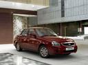 Фото авто ВАЗ (Lada) Priora 1 поколение [рестайлинг], ракурс: 315 цвет: красный