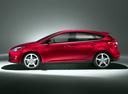 Фото авто Ford Focus 3 поколение, ракурс: 90 цвет: бордовый
