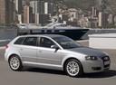 Фото авто Audi A3 8P/8PA [рестайлинг], ракурс: 315 цвет: серебряный