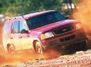 Фото авто Ford Explorer 3 поколение, ракурс: 315 цвет: красный